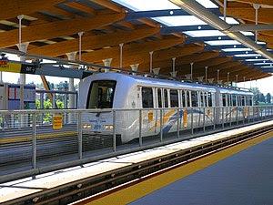 Description: A train of Vancouver's Skytrain (...