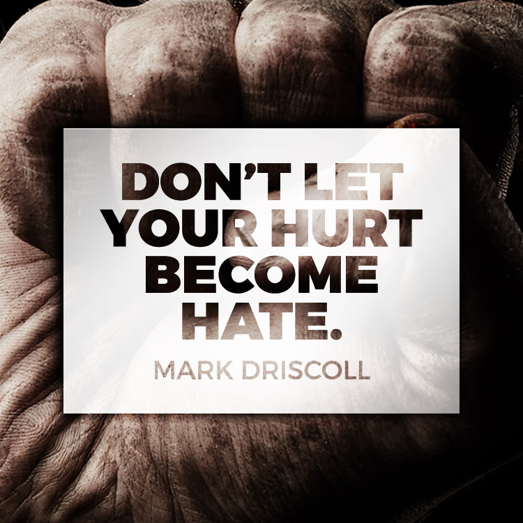 Dont Let Your Hurt Become Hate