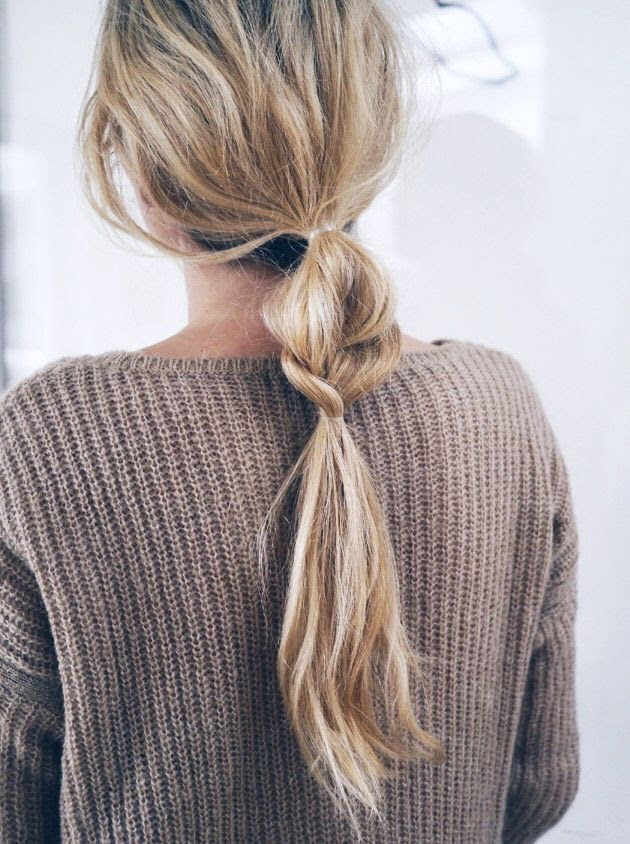 Le Fashion Blog Hair Inspiration Half And Half Textured Braided Ponytail Tan Ribbed Sweater Via Camilla Pihl photo Le-Fashion-Blog-Hair-Inspiration-Half-And-Half-Wavy-Braided-Ponytail-Brown-Textured-Knit-Via-Camilla-Pihl.jpg
