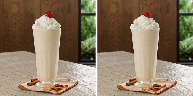 Chick-fil-A's New Autumn Spice Milkshake Is Filled With Cinnamon And Spiced Cookies