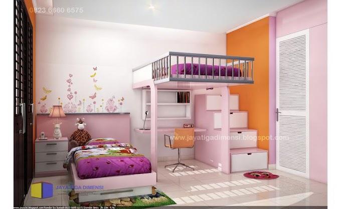 Desain Kamar Anak Minimalis 2x3