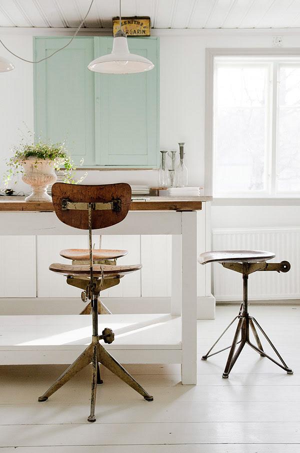 Decorar cocina. Cocinas blancas y de tonos claros