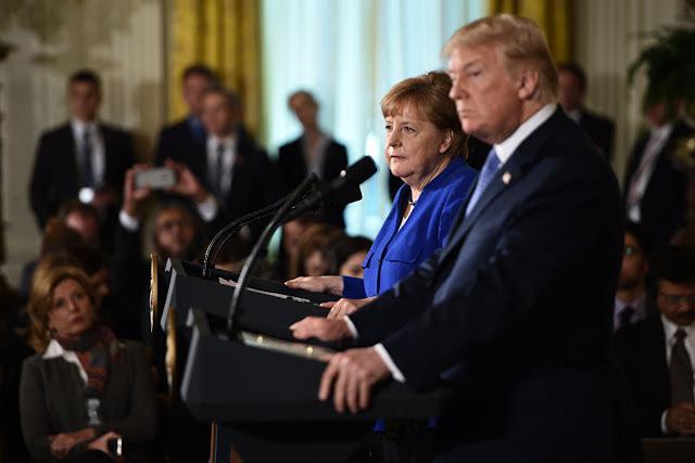 Είναι εξέγερση . Η Γερμανία αρνήθηκε στις ΗΠΑ να πληρώσει ένα ετήσιο φόρο υποτέλειας 73 δισεκατομμυρίων Ευρώ - Εικόνα1