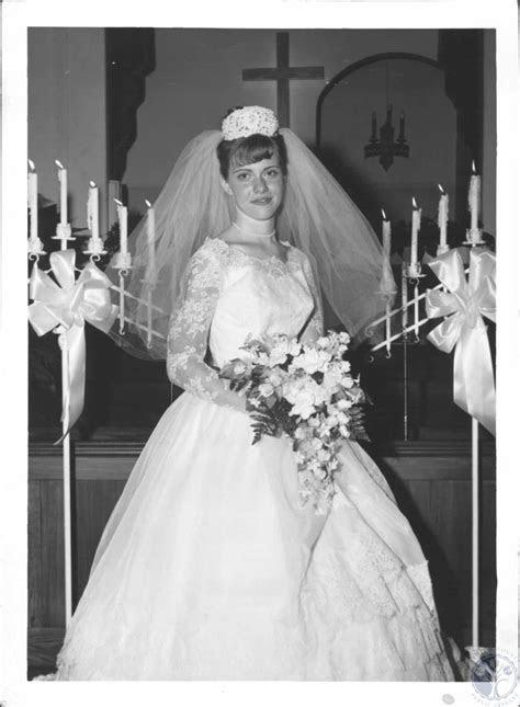 Mrs. Larry W. Walters at First Baptist Church, wedding