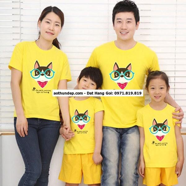 áo gia đình hàn quốc