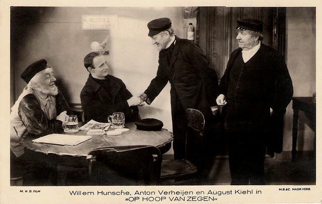 Willem Hunsche, Anton Verheijen, August Kiehl, Op Hoop van Zegen