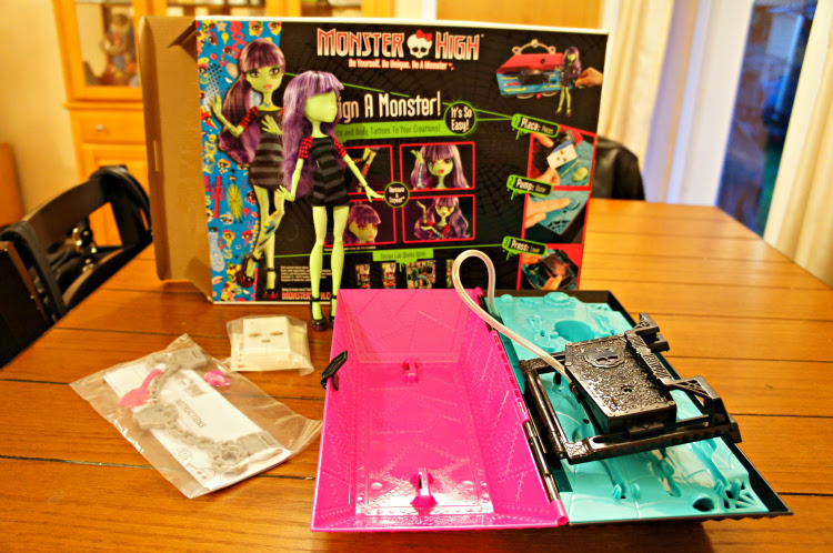 Monster High Create A Monster Design Lab The Rebel Chick