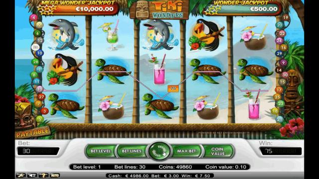 Играй на слоте Tiki Reward (Награда Тики) бесплатно на сайте обзоров онлайн казино Online-Casino Выгодное предложение без регистрации.Севастополь
