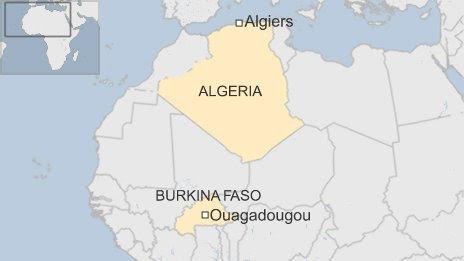 máy bay, mất tích, Algeria, Burkina Faso