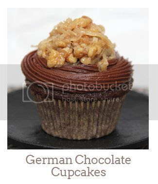 """German Chocolate Cupcakes"""