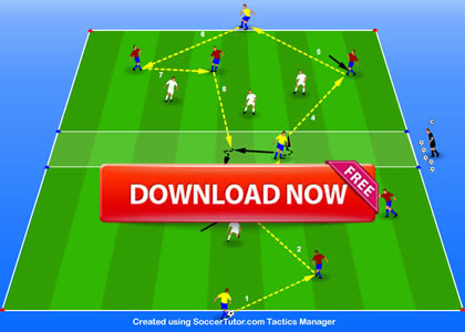 Attacking through the Centre and in a 6 v 6 Dynamic Small Sided Game