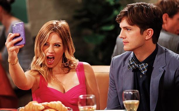 Hilary Duff e Ashton Kutcher (Foto: Divulgação)