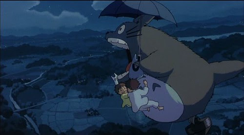 totoro fly high