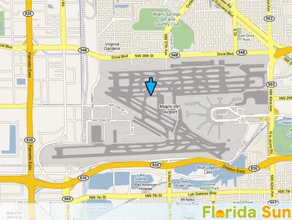 miami airport car rental address