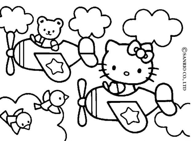 Hello Kitty And Friends Coloring Pages Hellokidscom