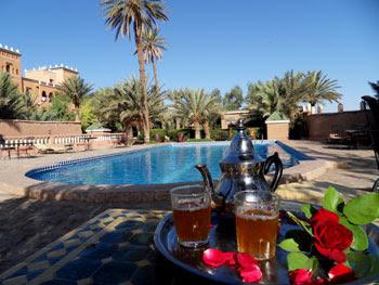 Piscine des Jardins de Ouarzazate