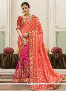 Buy Staring Designer Saree For Reception   Wedding Sarees