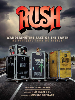 I am thrilled to announce the upcoming release of the official Rush touring  history book titled Rush  Wandering the Face of the Earth  The Official  Touring ... 84a6aa3c3