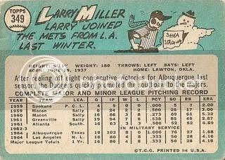 #349 Larry Miller (back)