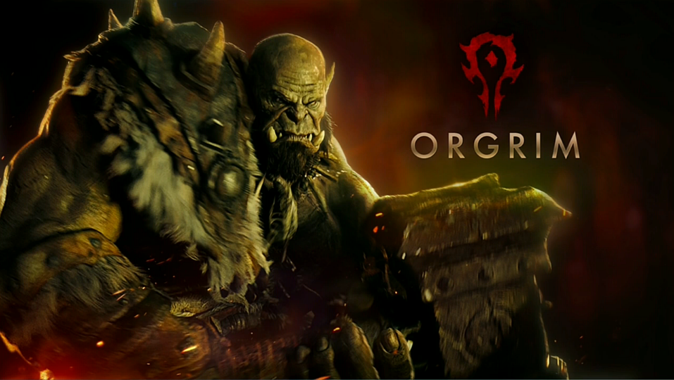Robert Kazinsky es Orgrim en Warcraft