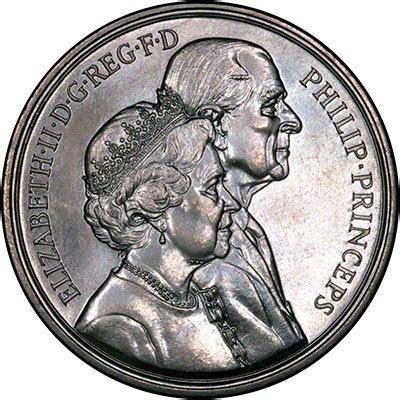 1997 Golden Wedding Anniversary £5 Crown Coin