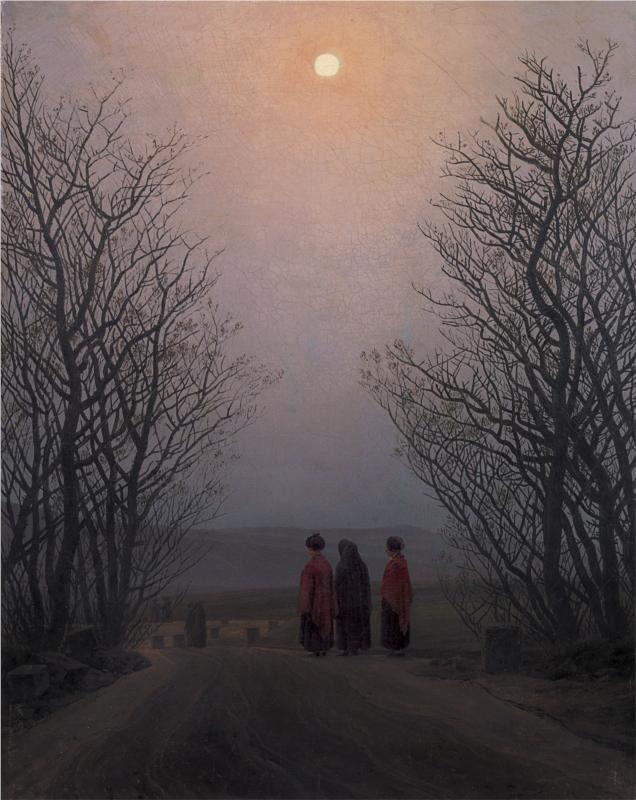 πασχαλιάτικο πρωινό Caspar David Friedrich 1835