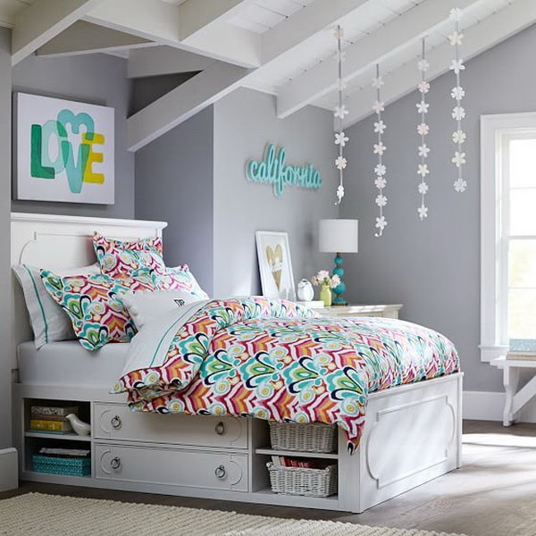 40+ Beautiful Teenage Girls' Bedroom Designs - For ...