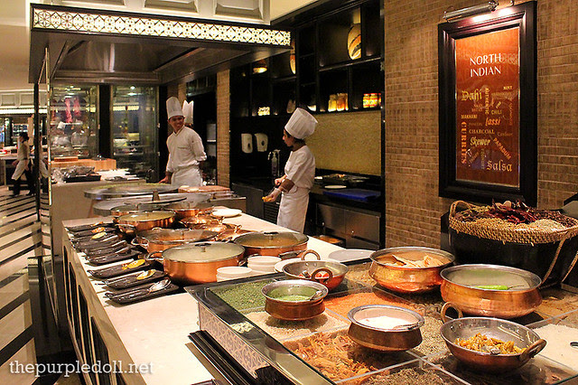 North Indian Section at Spiral Sofitel