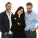 From left, Daniel Craig, Rachel Weisz and the rising star Rafe Spall, who play the love triangle in the
