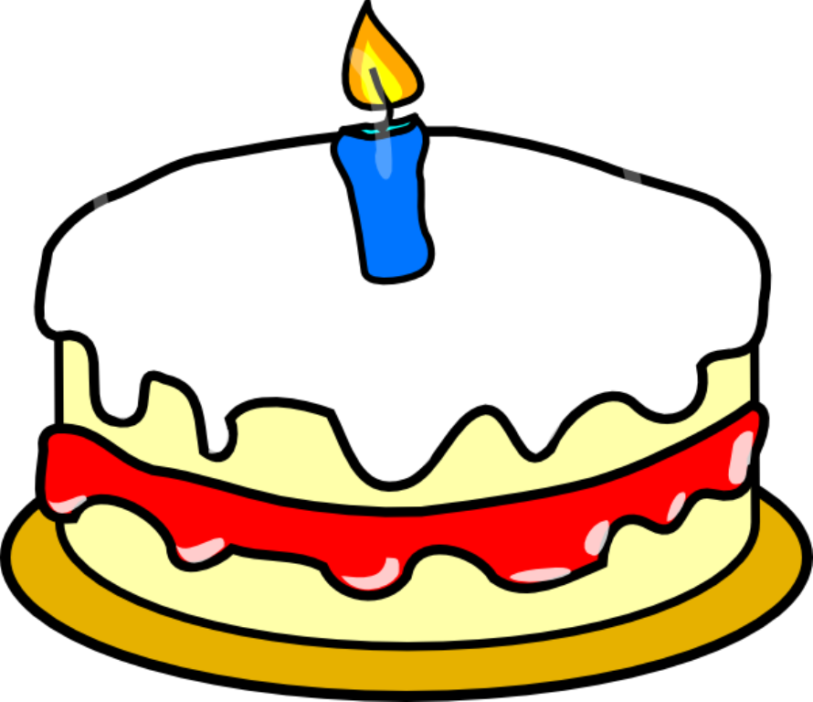 Animated Art Birthday Cake Free Clip
