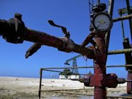 An oil pump in Havana, 2008. A group of US experts led by a former top environment official has visited Cuba to gather information on the communist country's Gulf of Mexico oil exploration plans