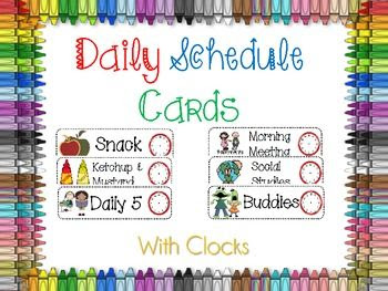 1000+ images about Class routine daily timetable on Pinterest ...