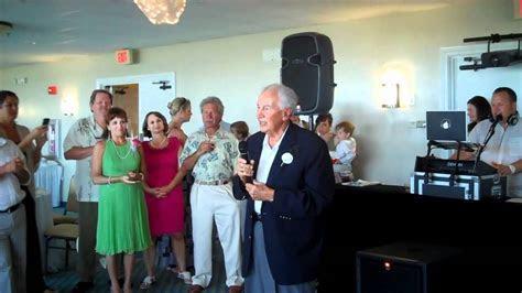 Schumacher/Scott Wedding  Grandfather of the Groom Speech