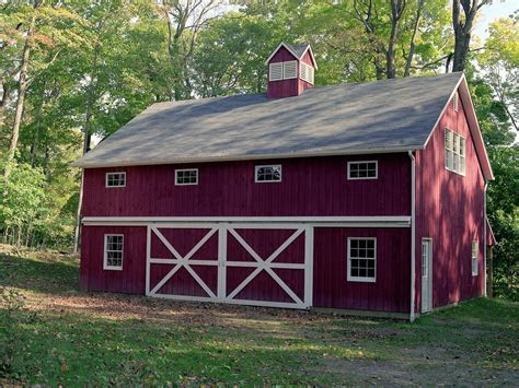 Design: 30x40 Pole Barn For Inspiring Garage And Shed