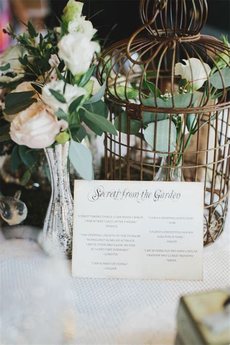 Indoor Garden Party Bridal Shower   Bridal Shower