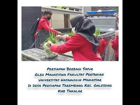 35 Paket Sayur Untuk 35 Penerima Manfaat, Berbagi Sayur di Kabupaten Takalar