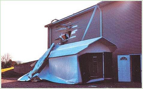 Ngôi nhà bay bí hiểm ở hạt Casey (Mỹ)