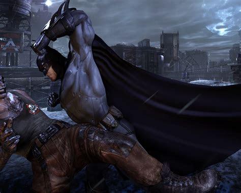 batman fight  clown batman arkham city desktop hd