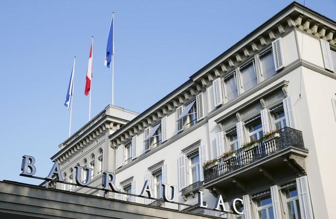 Hotel Baur au Lac Suíça Fifa (Foto: Reuters)