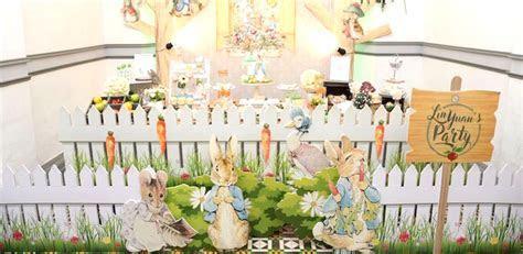 Kara's Party Ideas Peter Rabbit Garden Birthday Party