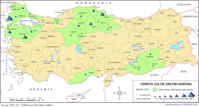 Turkiye - Türkiye Uzay Ajansı - Uçan Blog / Topraklarının % 35'i tarım alanı, % 11'i otlak, % 26'sı ormandır.