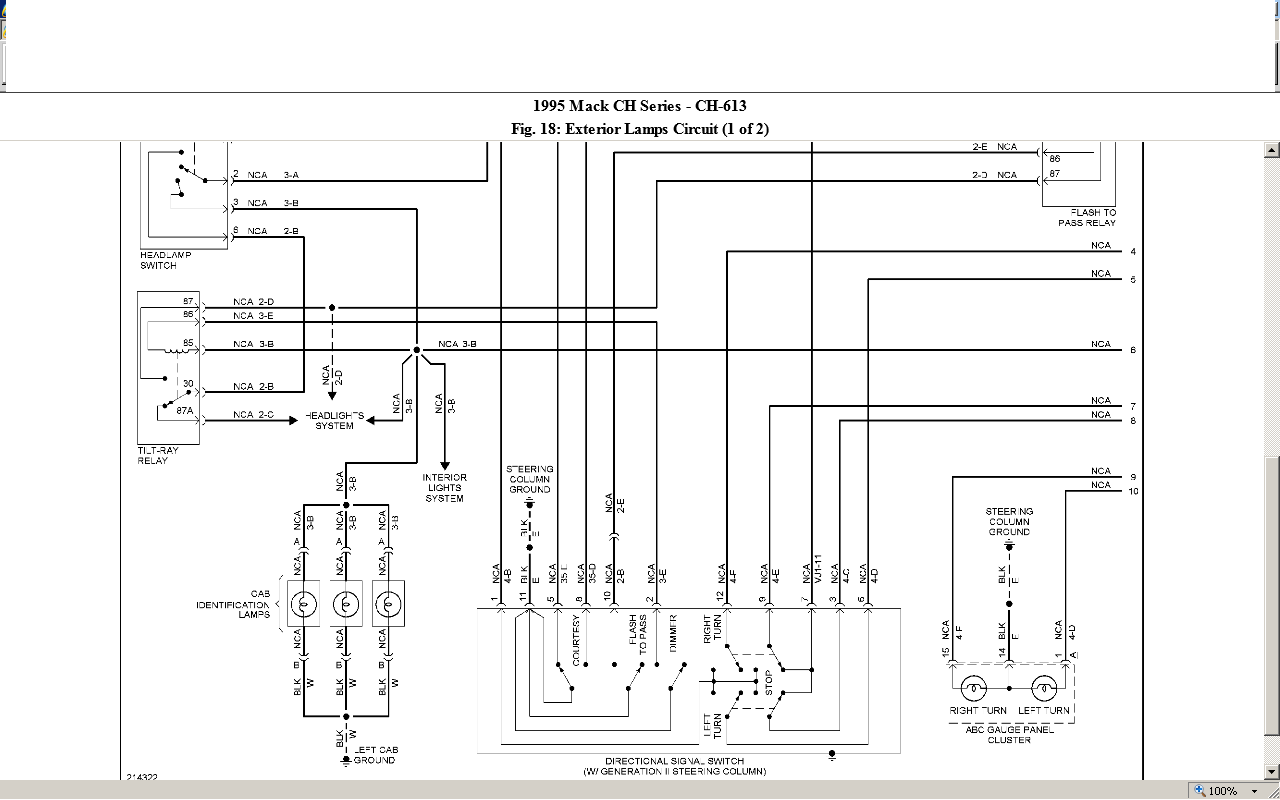 Mack Truck Ch613 Fuse Diagram Wiring Diagrams Element Element Miglioribanche It
