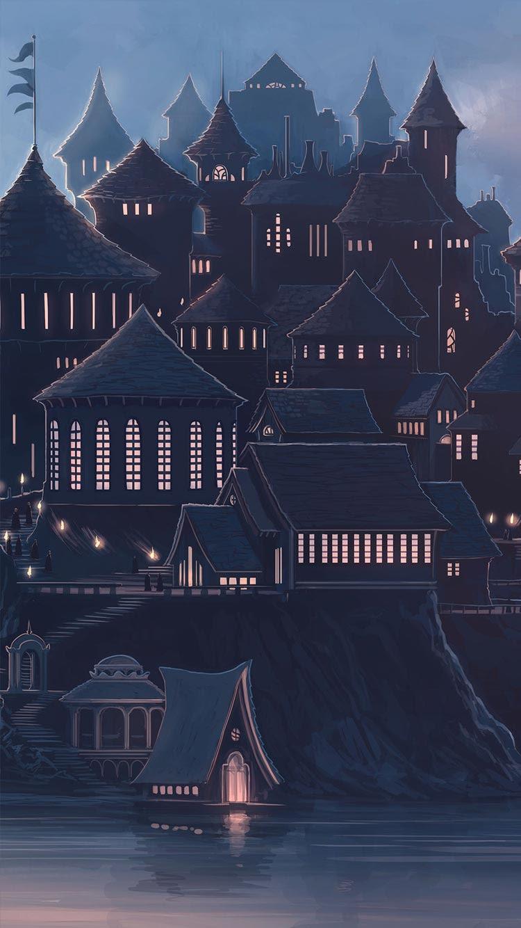 Hogwarts iPhone Wallpaper - WallpaperSafari
