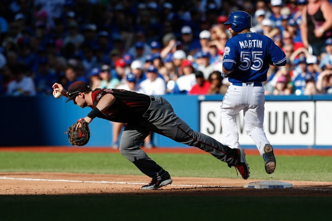 Arizona Diamondbacks vs. Toronto Blue Jays - 7/19/16 MLB Pick, Odds, and Prediction