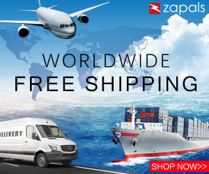 Worldwide Free Shipping for Products below $10 at Zapals
