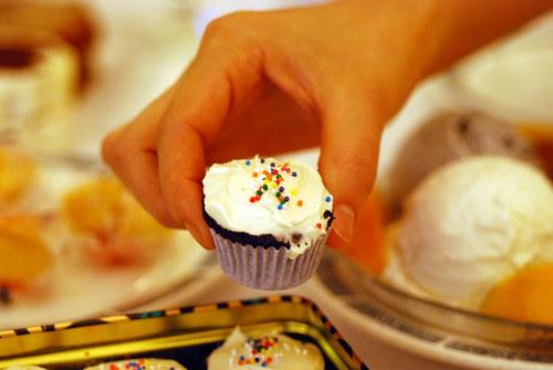 Mini Guiness Cupcake