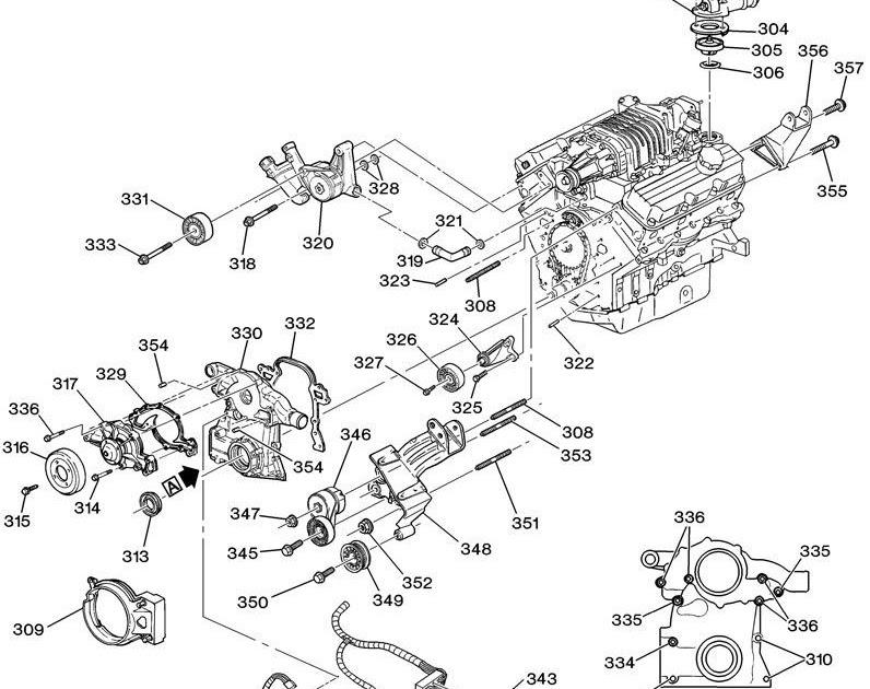 3800 V6 Engine Line Diagram