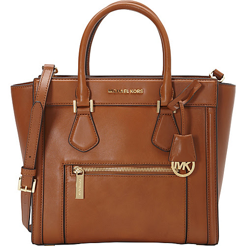 MICHAEL Michael Kors Colette Zip Large Satchel Luggage - MICHAEL Michael Kors Designer Handbags