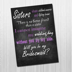 The 25  best Bridesmaid poems ideas on Pinterest   Wedding