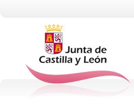 Página de inicio de la Web principal de la Junta de Castilla y León